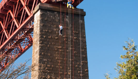 Forth Bridge Abseil
