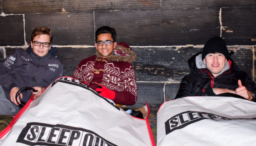 Under 21's Sleep Out