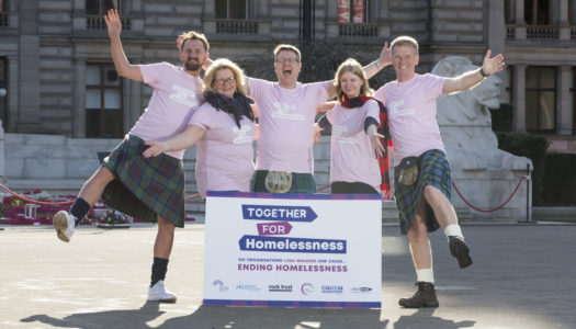 Together For Homelessness Kilt Walk